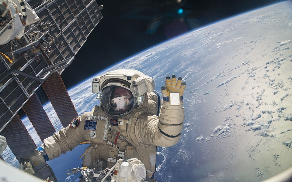 Una scialuppa per emergenze spaziali