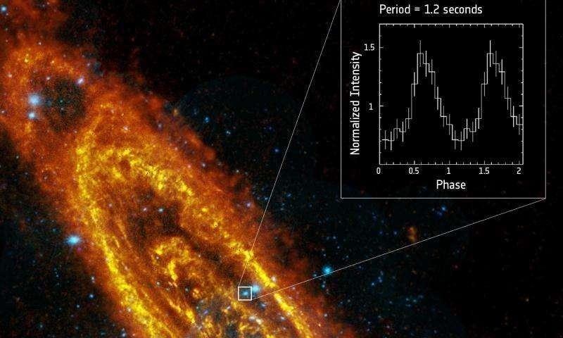 Una stella di neutroni per Andromeda