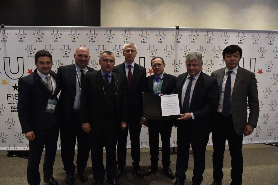 Universiadi 2019: La Campania firma il contratto
