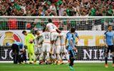 Uno spettacolare Messico batte una nervosa Uruguay