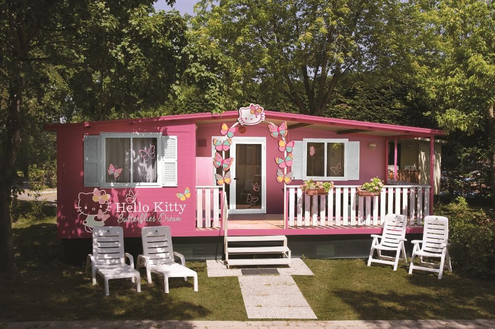 """Vacanze: arriva la casa di """"Hello Kitty"""""""