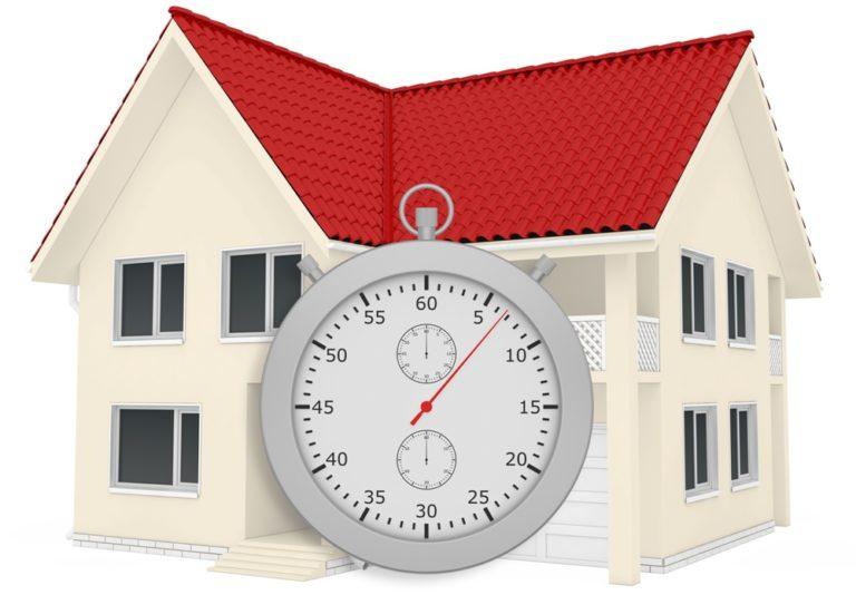 Vendere casa: tempi più brevi