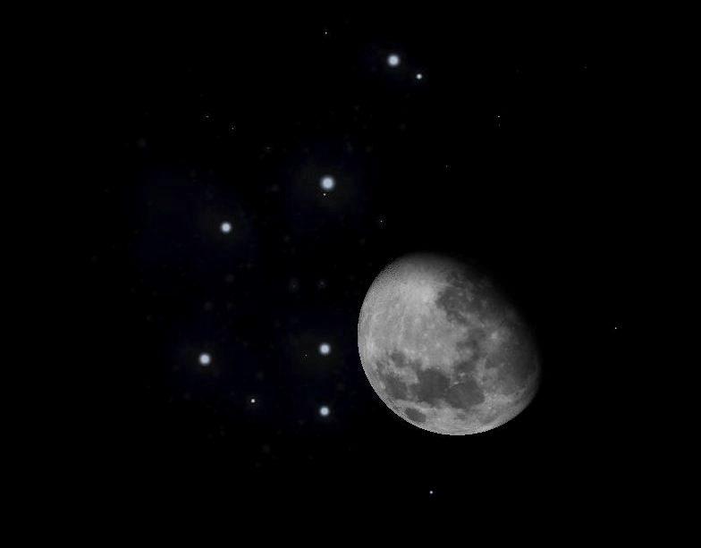 Vortici misteriosi raccontano la storia della luna