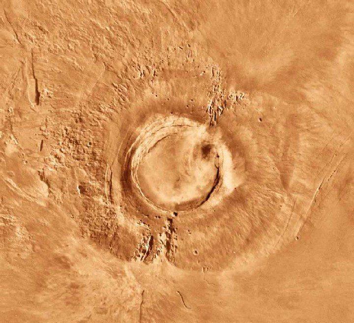 Vulcanismo marziano