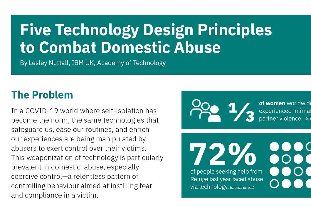 Cinque principi chiave per contrastare gli abusi domestici