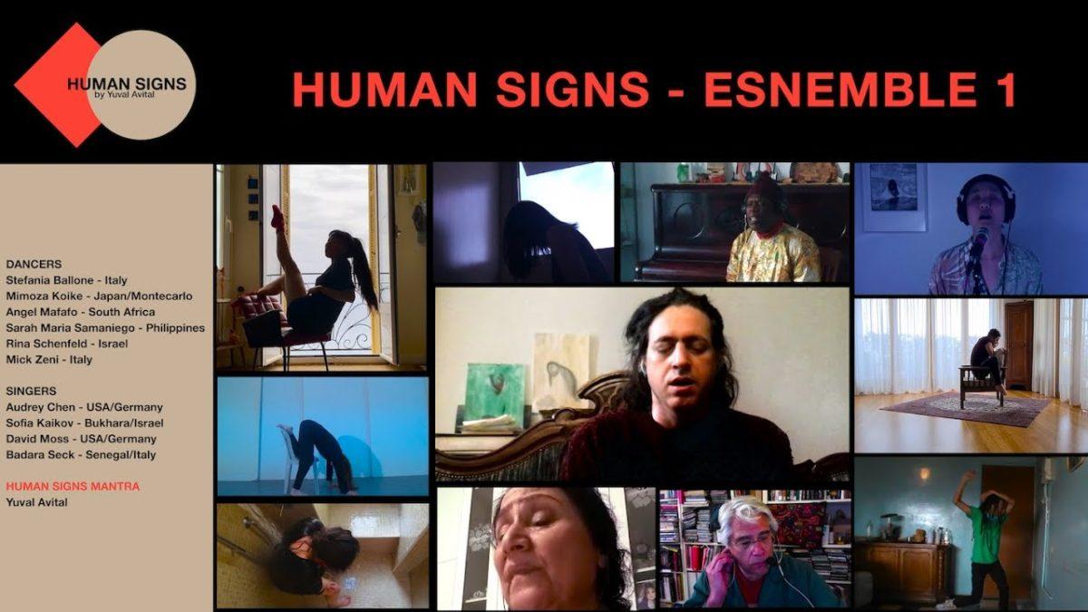 Human Signs: l'opera online di danza e voce
