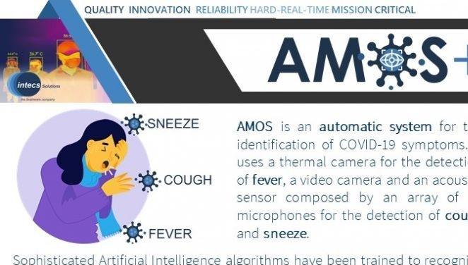 Coronavirus: al Policlinico Tor Vergata la sperimentazione di AMOS COVID-19