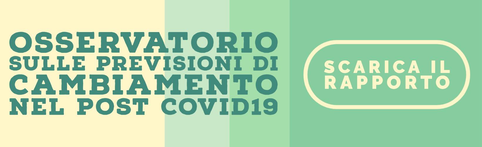 Il lockdown genera desiderio di cambiamento per 7 italiani su 10