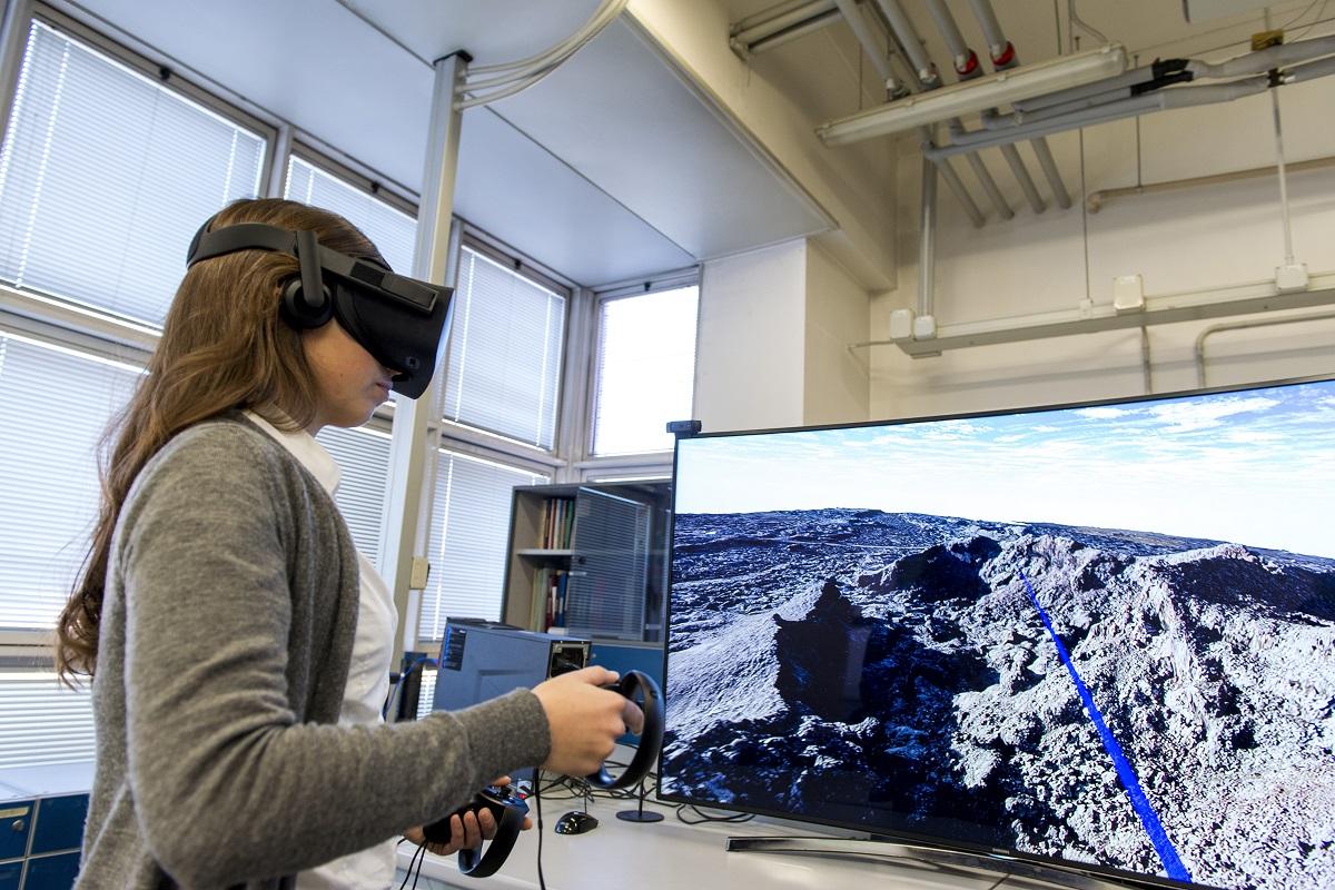 La geologia in un touch: online i modelli virtuali di vulcani