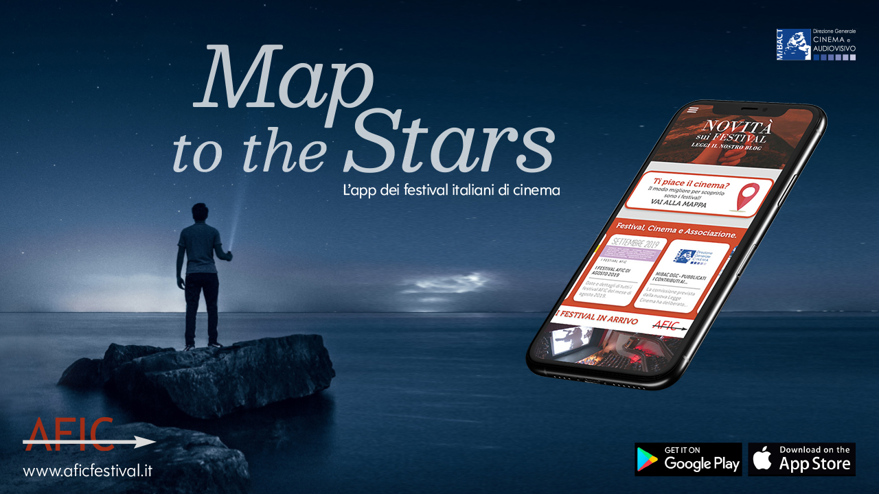 Map to thre stars: l'app dedicata ai festival italiani di cinema
