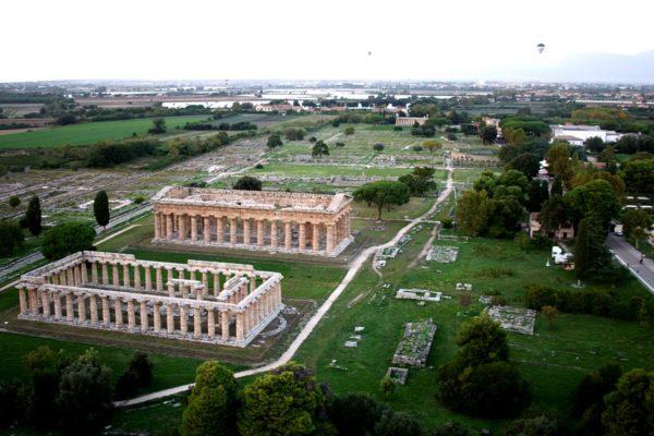 Paestum: riemergono nuovi resti