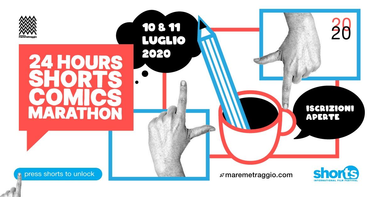 ShorTS International Film Festival 2020: torna la 24H ShorTS Comics Marathon