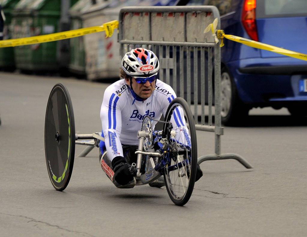 Alex Zanardi e l'incidente con la sua handbike