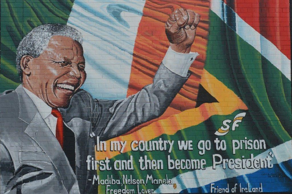 Nelson Mandela è stato protagonista indiscusso della lotta al razzismo in Sudafrica