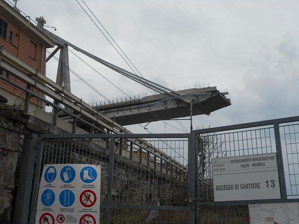 Il crollo del ponte morandi