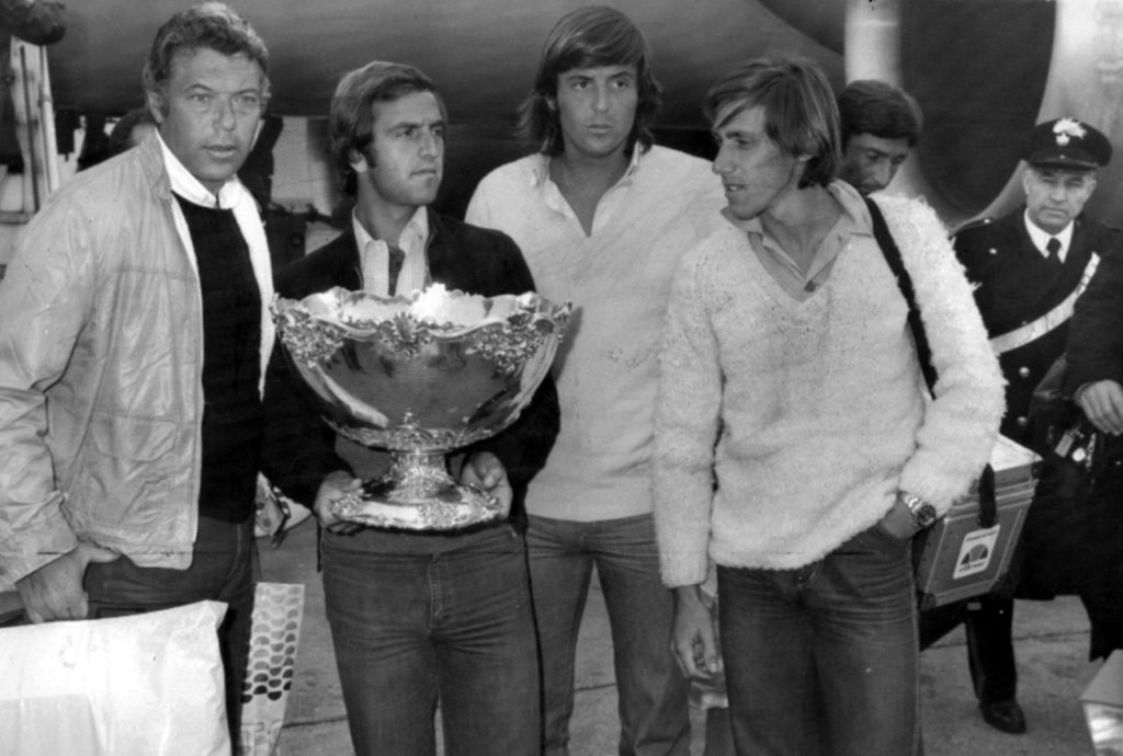 I magnifici 4 della Coppa David 1976