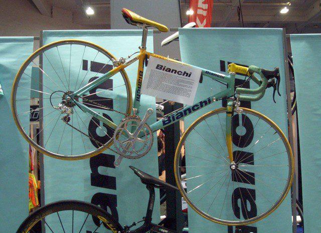 La bici usata da Pantani 1998