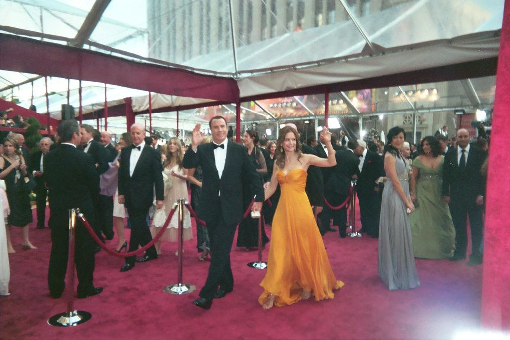 Travolta e Preston agli Emmy del 2008