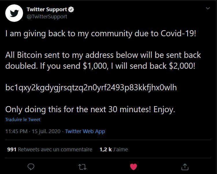 Twitter sotto attacco hacker: i grandi del mondo regalano soldi?