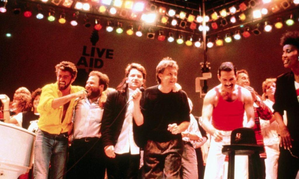 Uniti al Live Aid