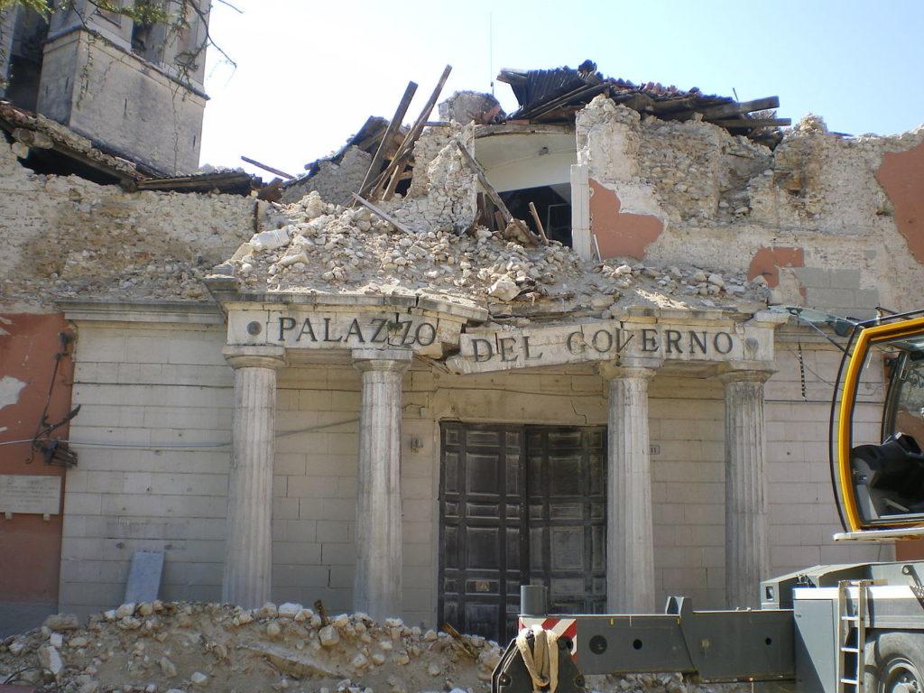 il terremoto dell'Aquila