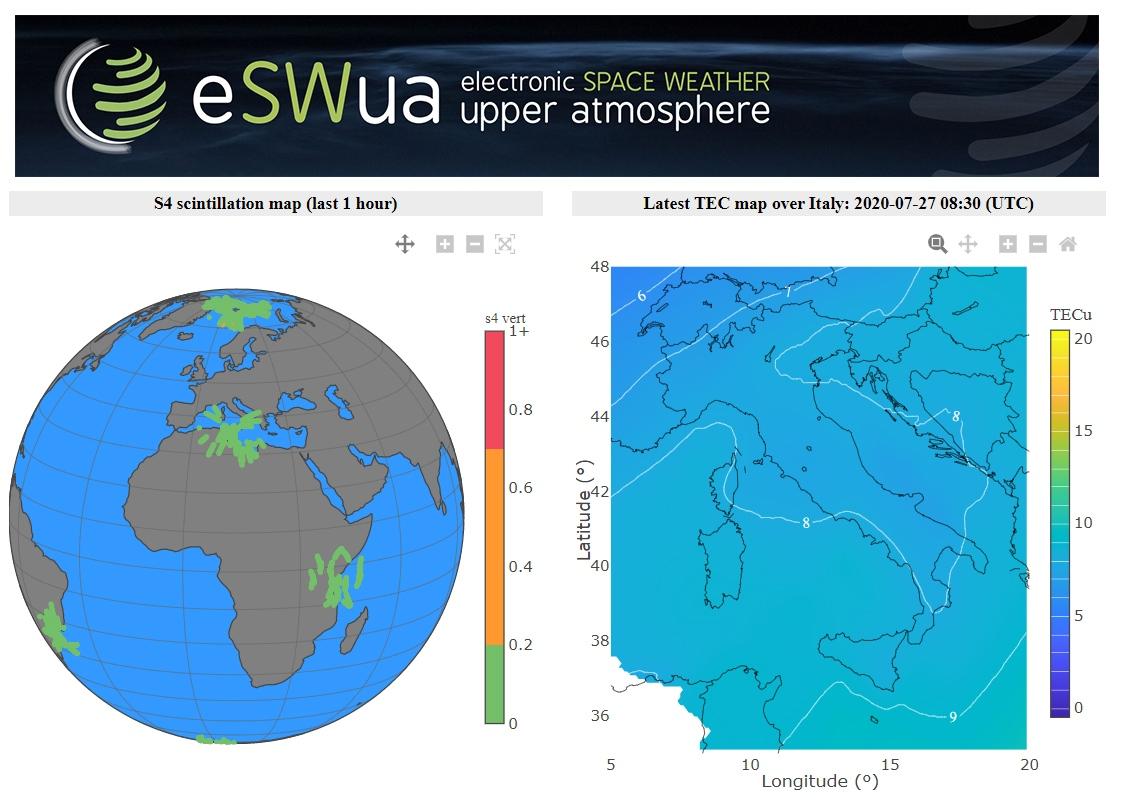 Online il nuovo portale per il monitoraggio della ionosfera