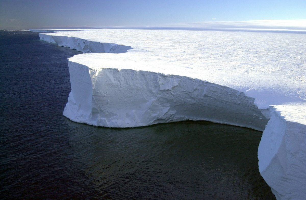 uscita di metano dai fondali dell'Antartide