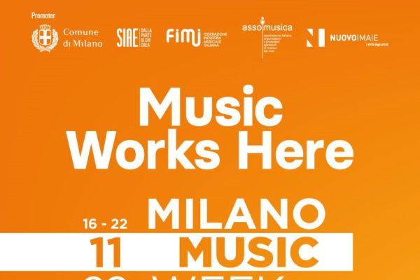 Milano Music Week 2020:  la settimana dedicata alla musica