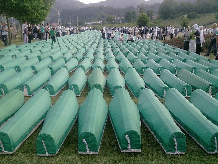 Le vittime del massacro di Srebrenica
