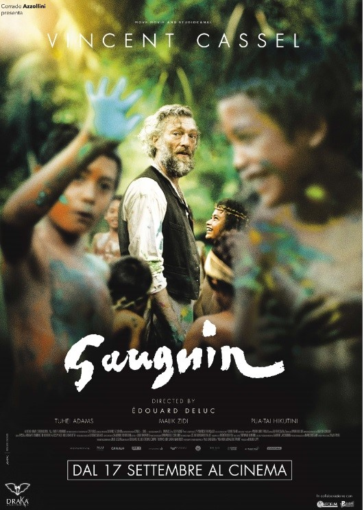 """""""Gauguin"""" con Vincent Cassel il film sul maestro del post-impressionismo"""