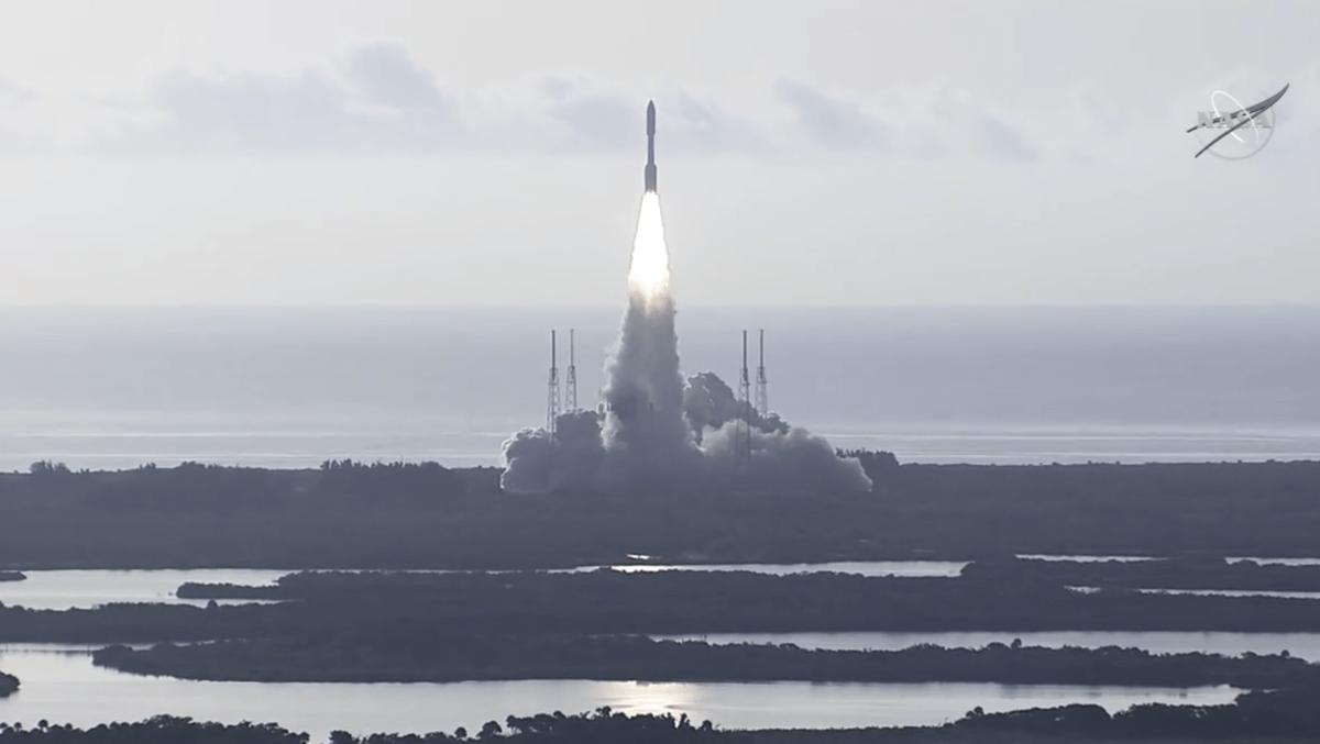 Il lancio della missione Perseverance della Nasa