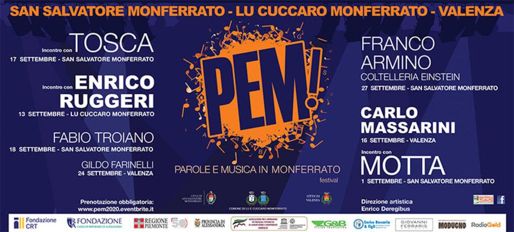 'PEM!' 2020, un'edizione ricca di ospiti ed eventi