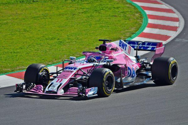Sergio Perez positivo al Covid 19