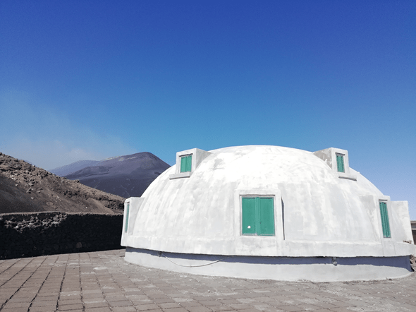 Un gravimetro atomico sull'Etna: la prima volta su un vulcano attivo