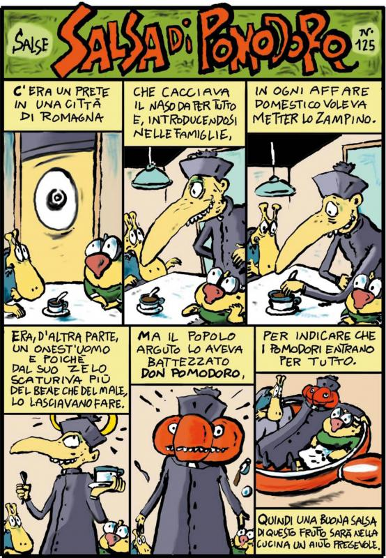 Pellegrino Artusi 1820 - 2020: ricette a fumetti di Alberto Rebori