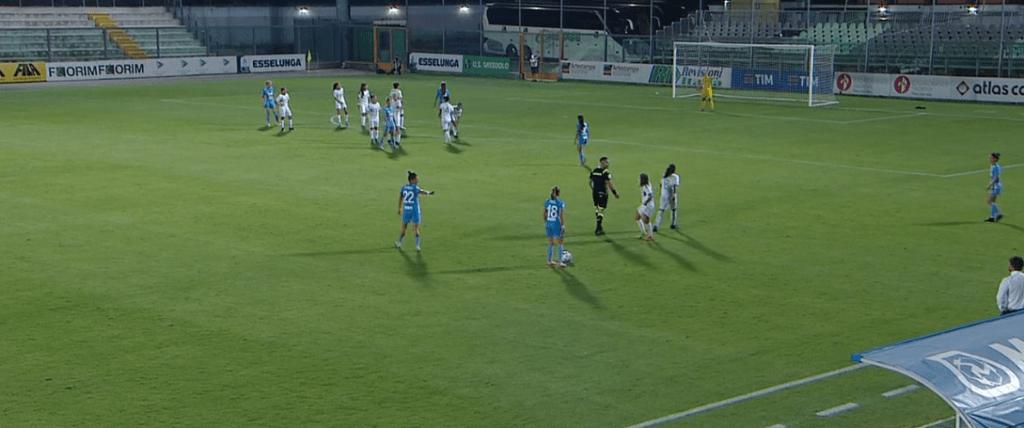 Terza sconfitta per la Napoli Femminile, ancora 0 i punti in campionato