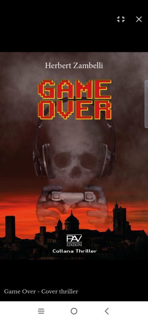 Game Over di Herbert Zambelli: Intervista all'autore