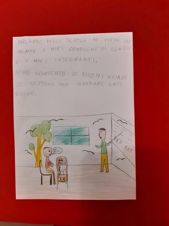 Il rientro a scuola con il Covid-19:  emozioni e speranze dei bambini