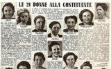donne e costituzione