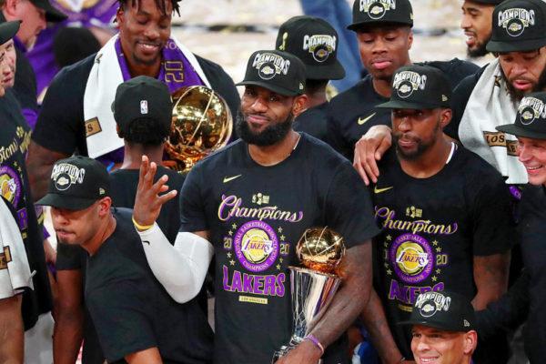 I Lakers sono campioni NBA 2020