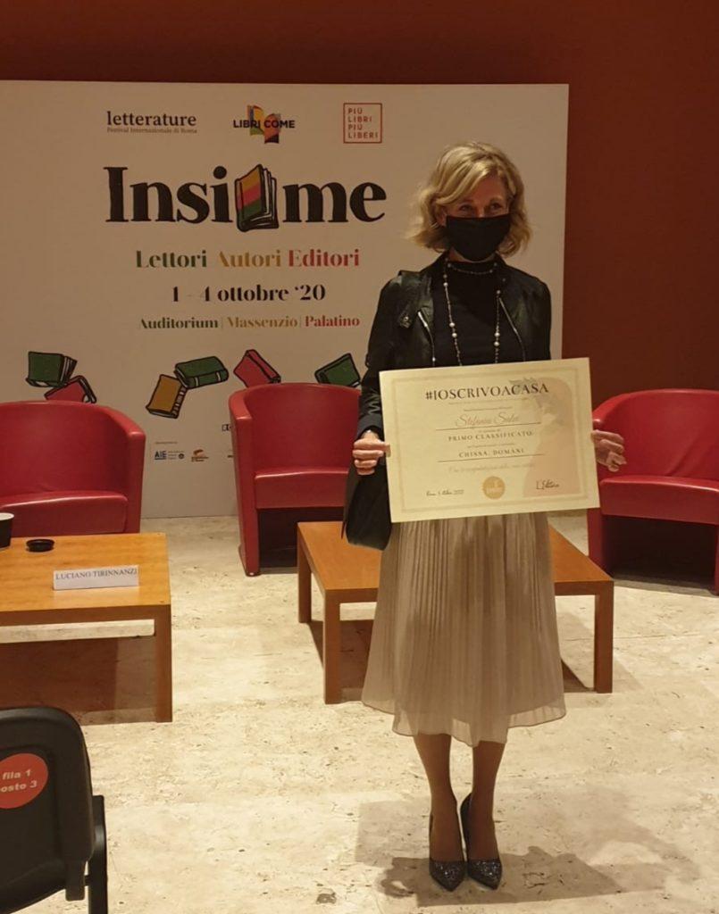 Intervista a Stefania Salvi, vincitrice del concorso #ioscrivoacasa