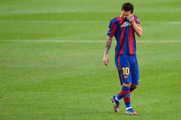 Messi, l'addio tra le lacrime al Barcellona