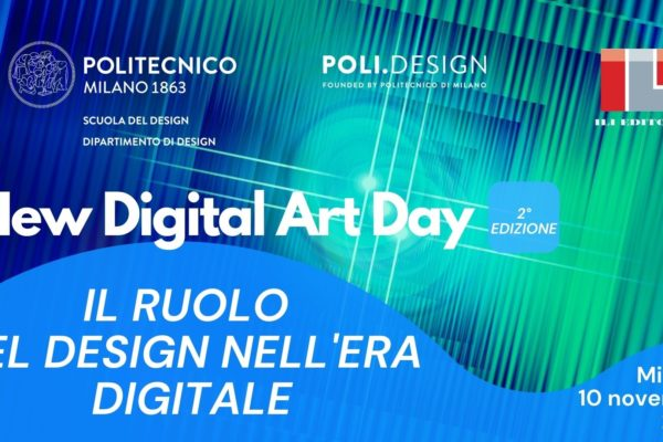 New Digital Art Day: il ruolo del design nell'era digitale