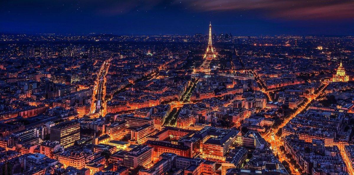 Francia e zone rosse