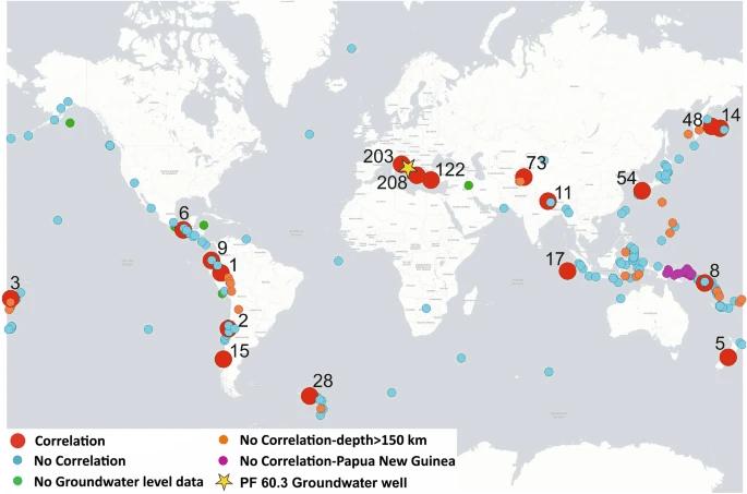 Le acque sotterranee dell'Appennino che segnalano i terremoti