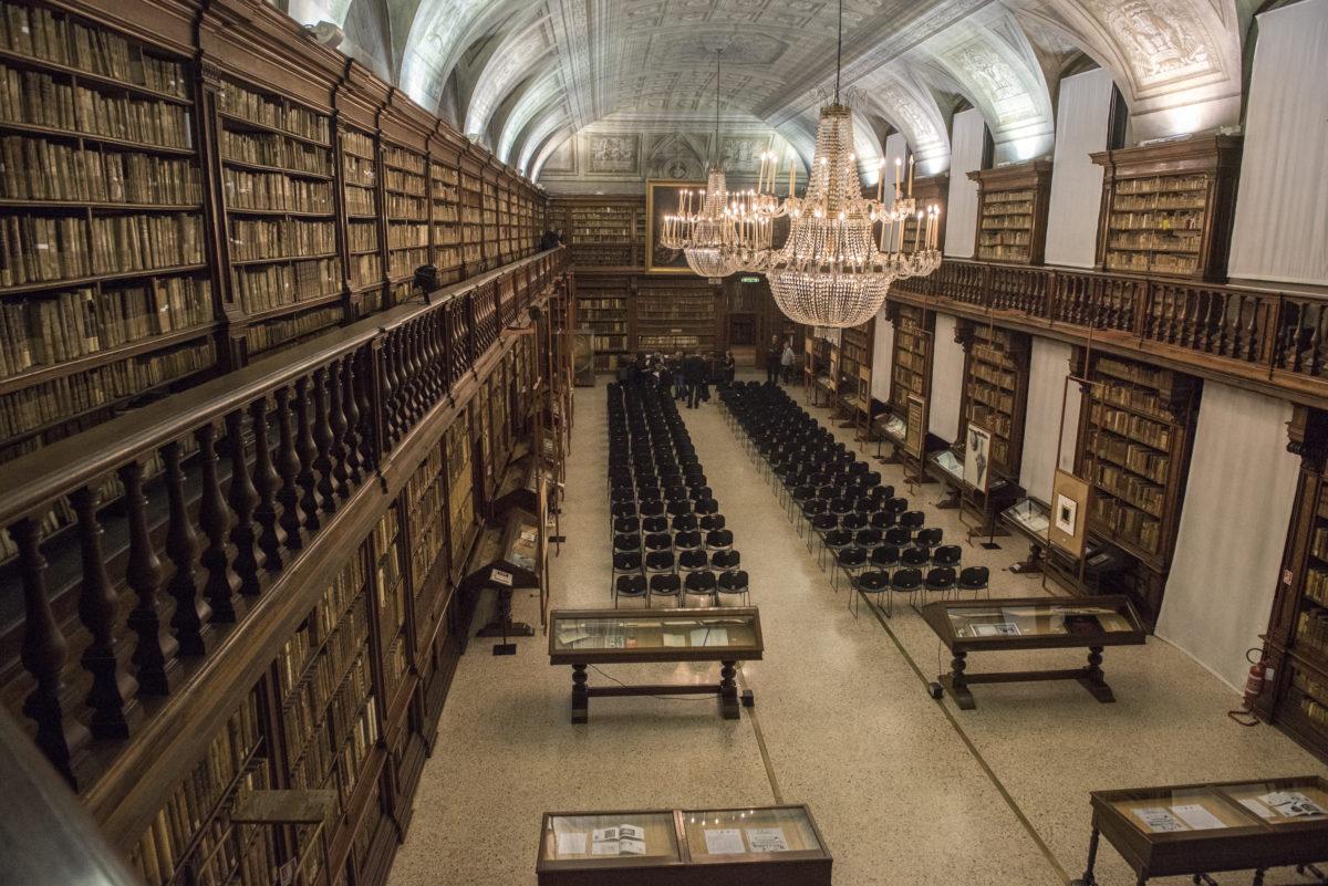 la Biblioteca Braidense