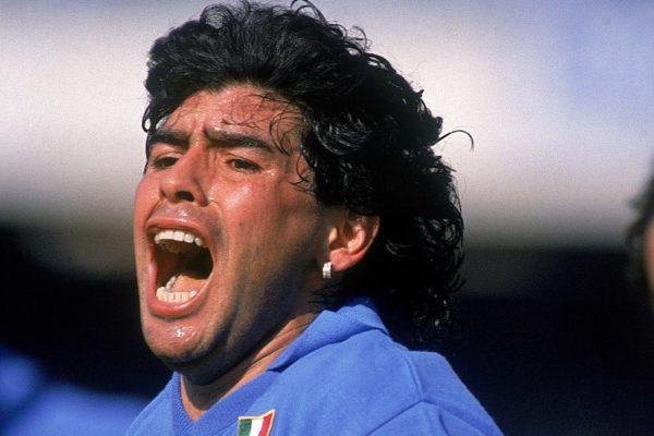 Laura Pausini Maradona morte
