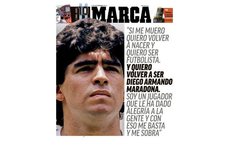 Napoli omaggia e ricorda Diego Armando Maradona