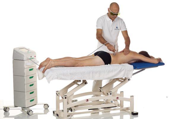 La laserterapia per la cura delle ernie del disco
