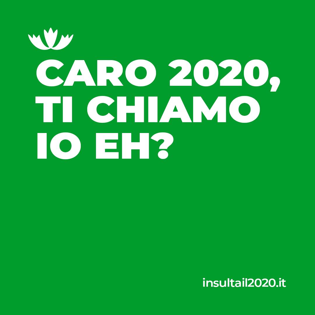"""Nasce il sito """"Insultare il 2020"""""""